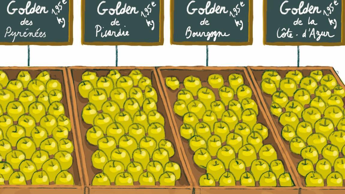 Consommez des fruits et des légumes variés