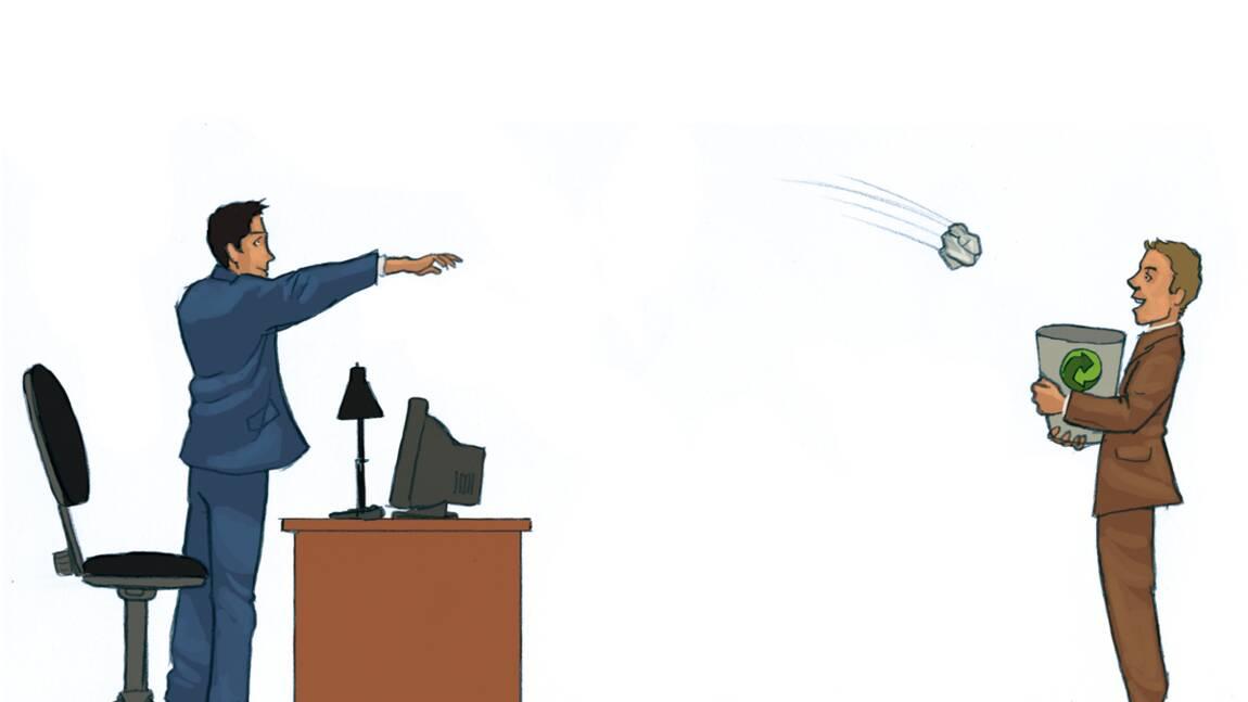Bureau et maison, même combat