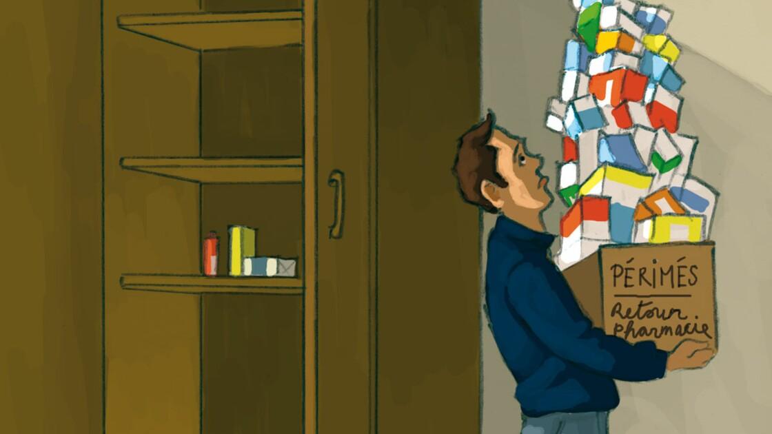 Les médicaments... retour à la pharmacie !