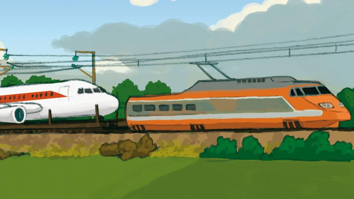 Le train plutôt que l'avion