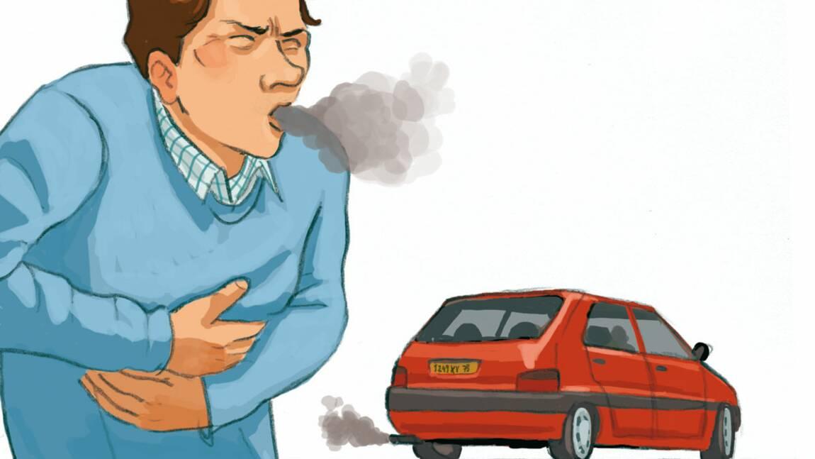 Les pollluants liés à la voiture