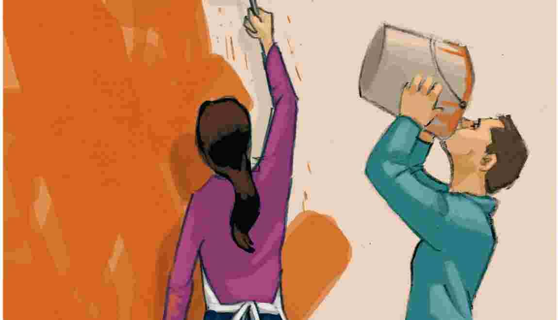 Les revêtements des murs : les peintures minérales