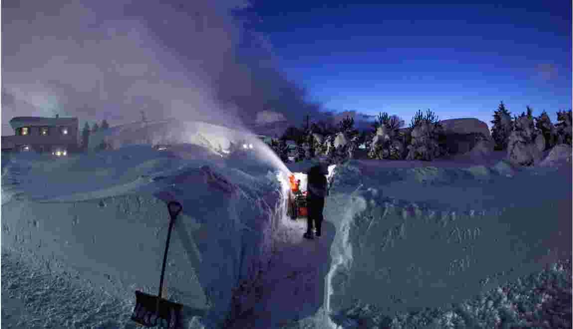Des chutes de neige extrêmes expliquées par l'effet de lac