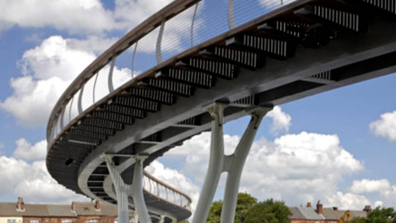 Castelford Bridge, un pont labellisé FSC