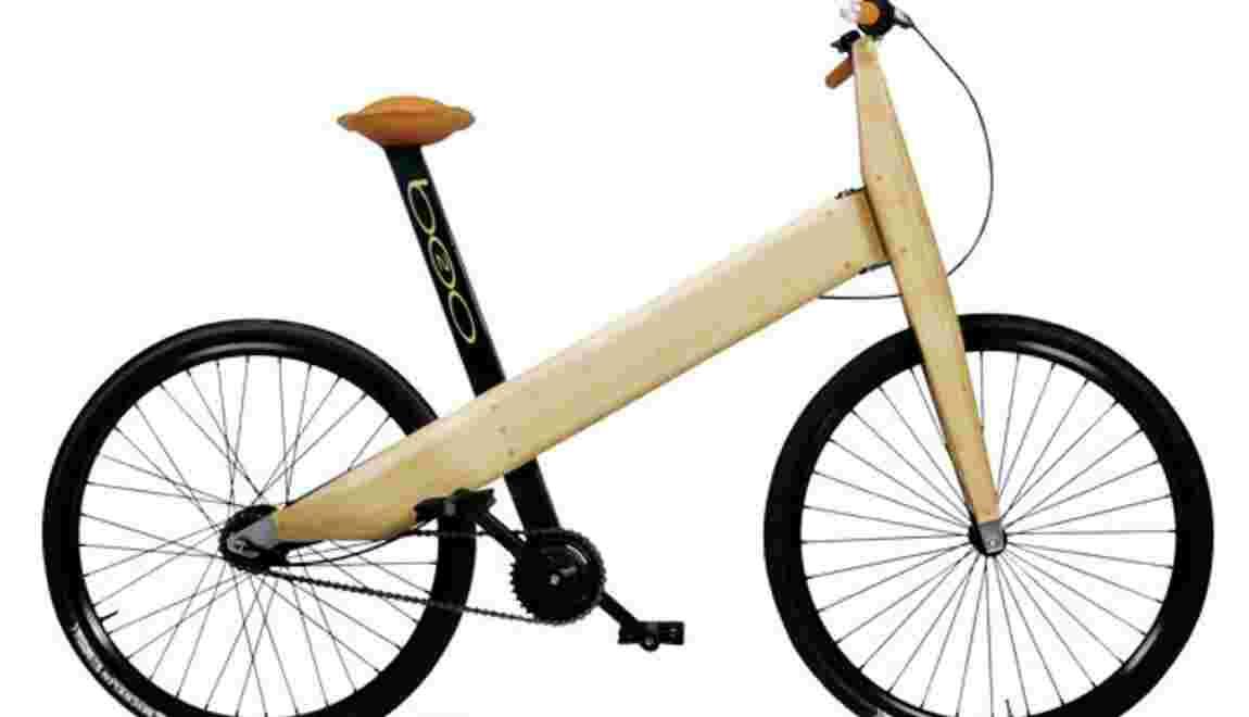 Vélo B20, la bicyclette en bois