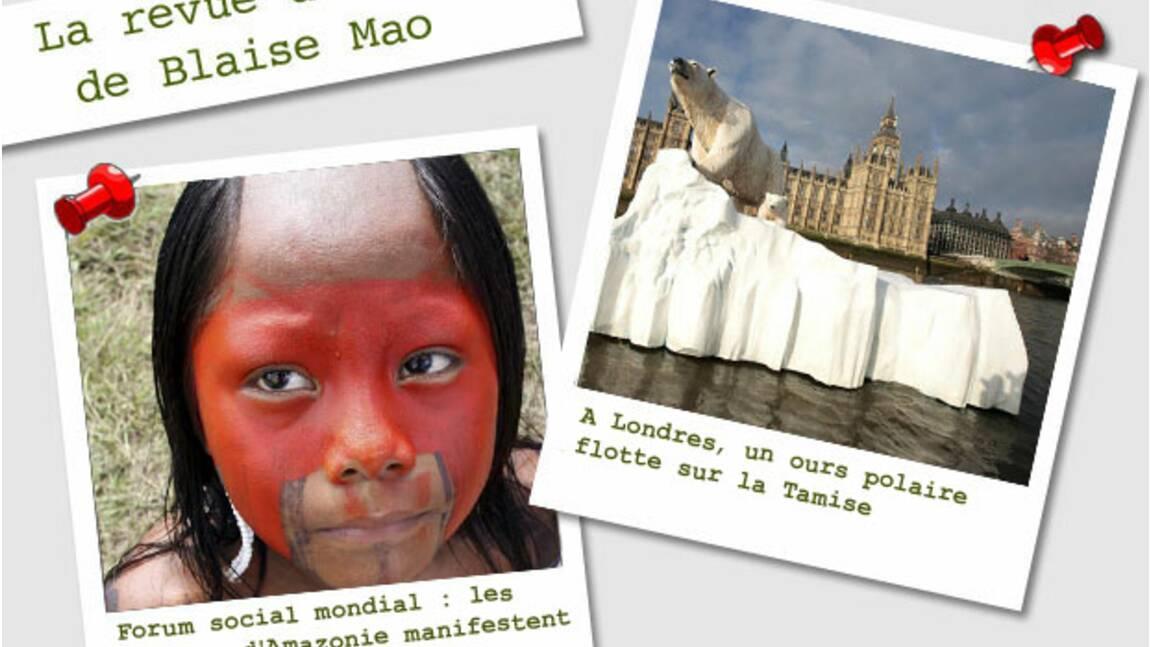La revue de presse de Blaise Mao du 23 au 30 janvier