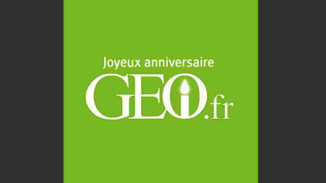 GEO.fr fête ses 1 an !