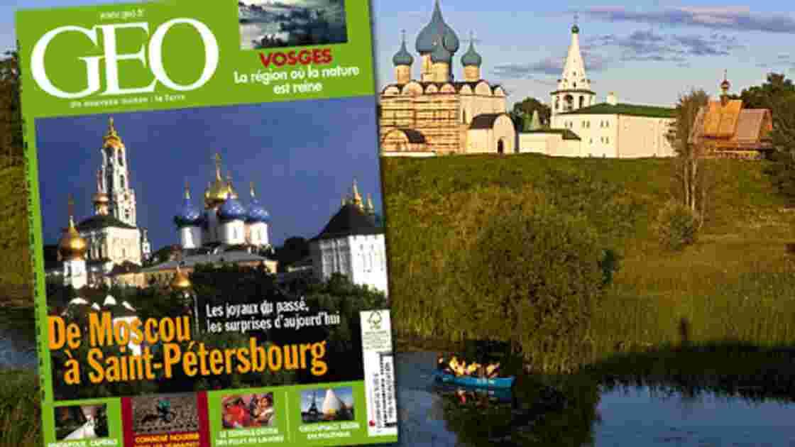 GEO n°373 - Mars 2010 - Spécial Russie
