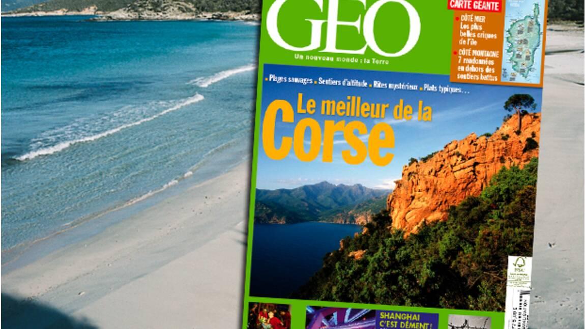 GEO n°377 - Juillet 2010 - Corse