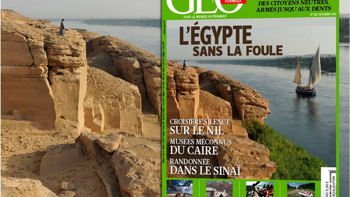 GEO n°382 - Décembre 2010 - l'Egypte sans la foule