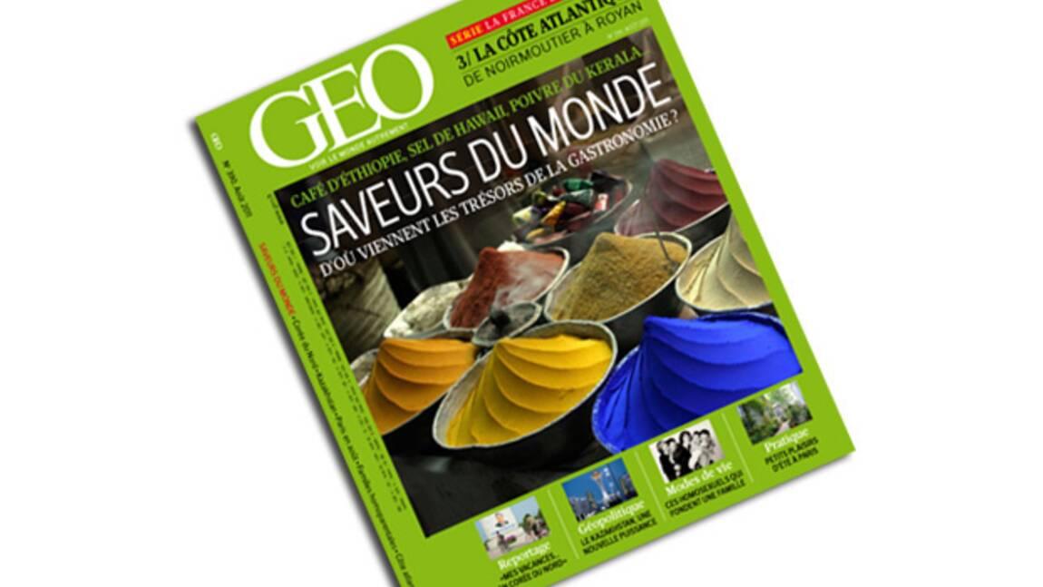 GEO n°390 - Août 2011 : Saveurs du monde