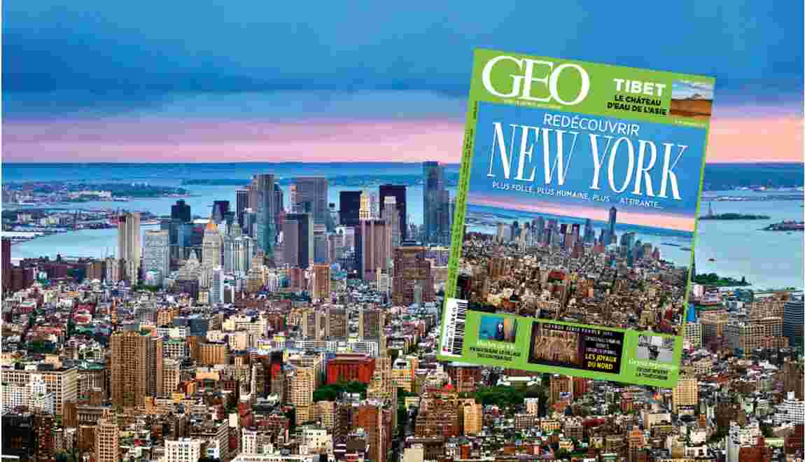 Magazine GEO spécial New York (n°417, novembre 2013)