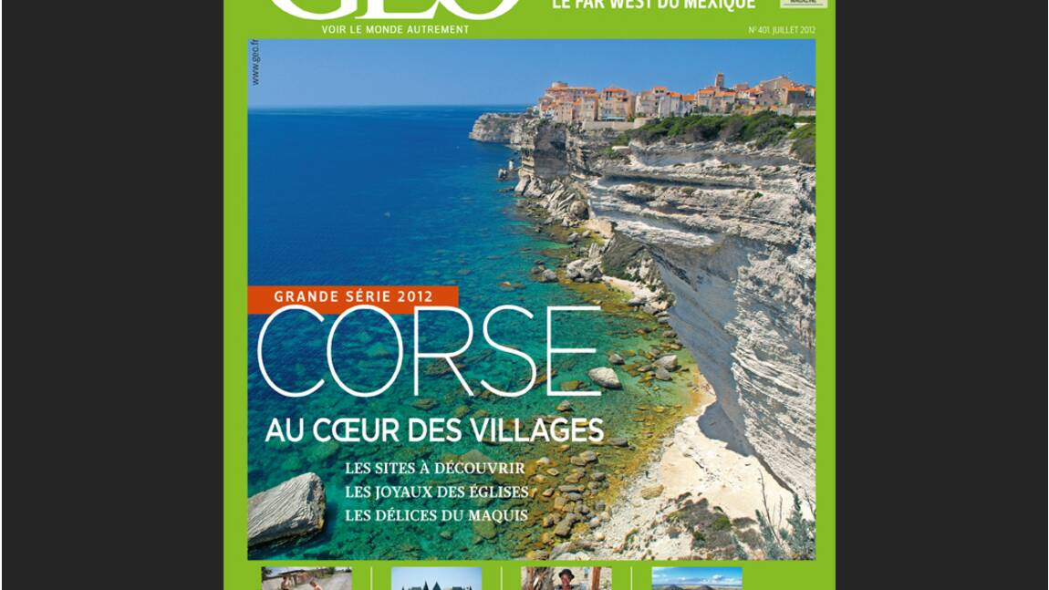 Magazine GEO - Spécial Corse (juillet 2012)