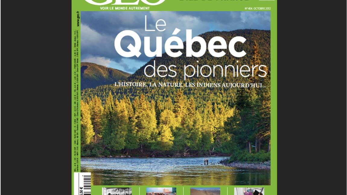 Magazine GEO - Spécial Québec (octobre 2012)