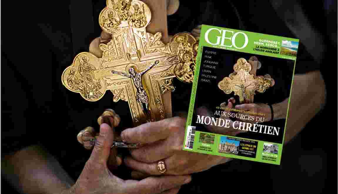 Magazine GEO spécial Monde chrétien (n° 418 - Décembre 2013)