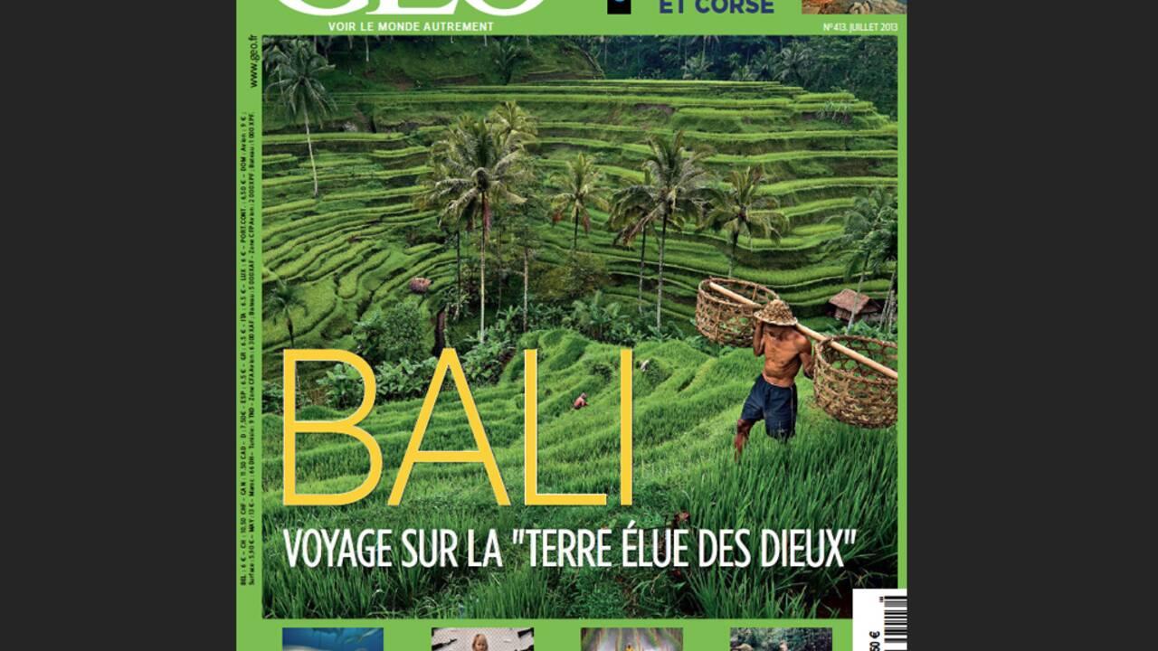 Magazine GEO spécial Bali (n°413, juillet 2013)