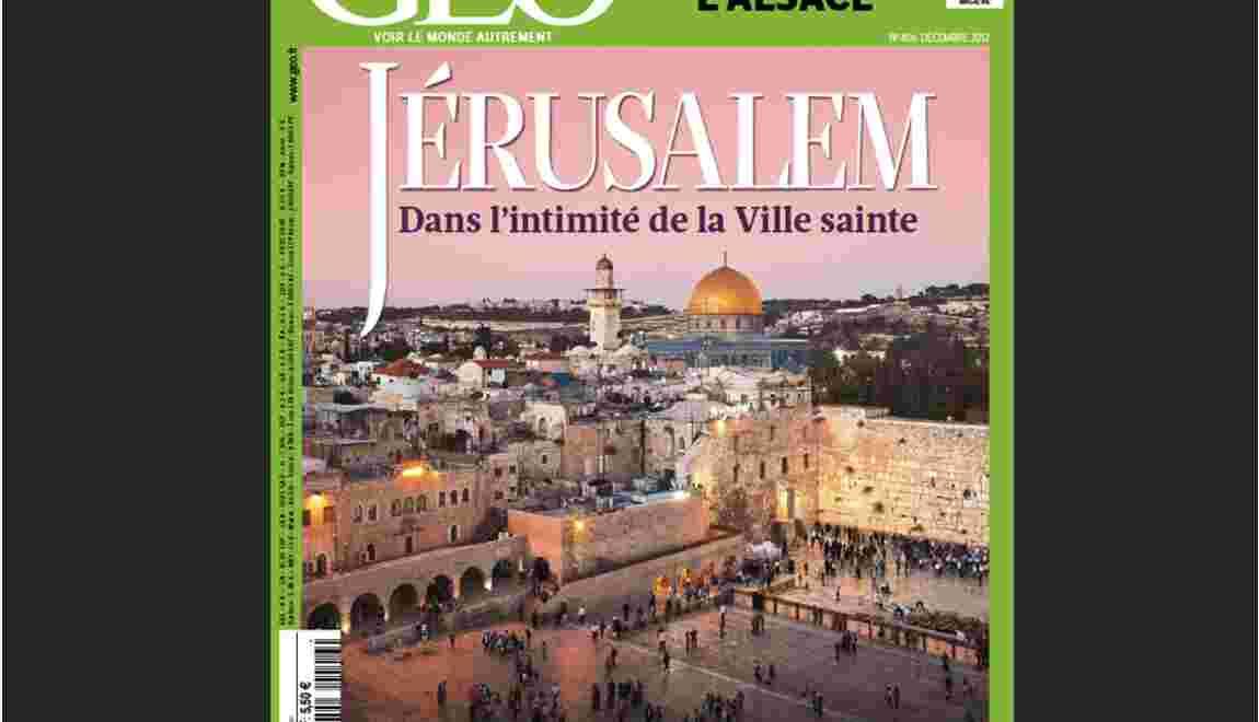 Magazine GEO - Spécial Jérusalem (décembre 2012)