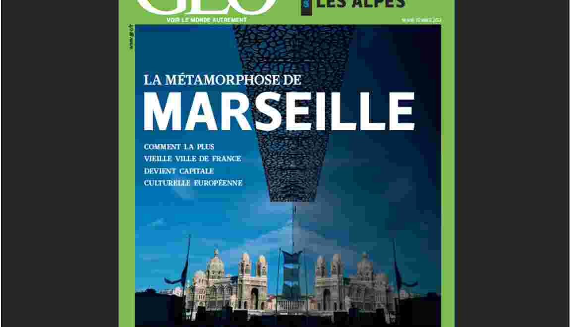 Magazine GEO - Spécial Marseille (février 2013)