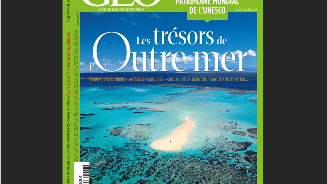 Magazine GEO - Spécial Outre-mer (janvier 2013)