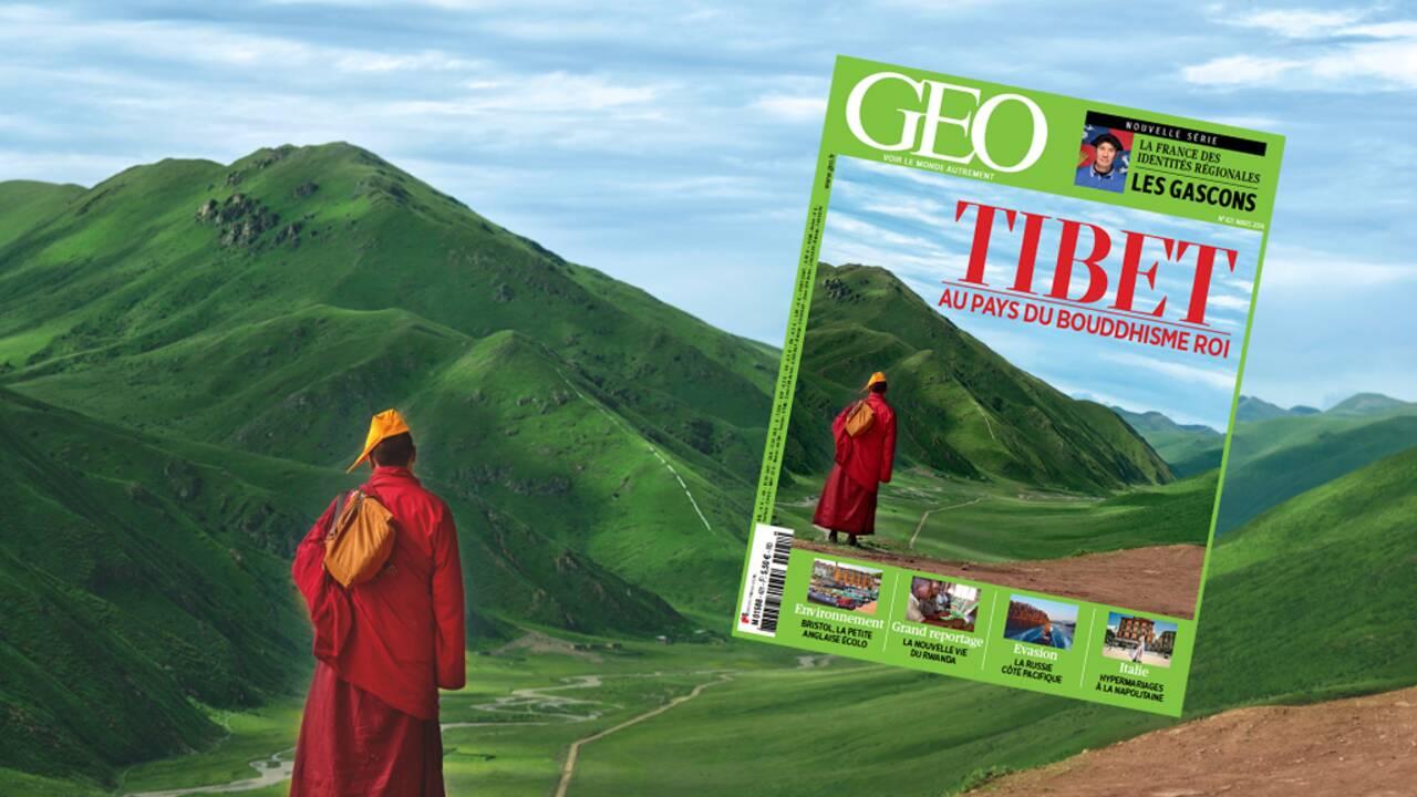Magazine GEO spécial Tibet (n°421 / mars 2014)