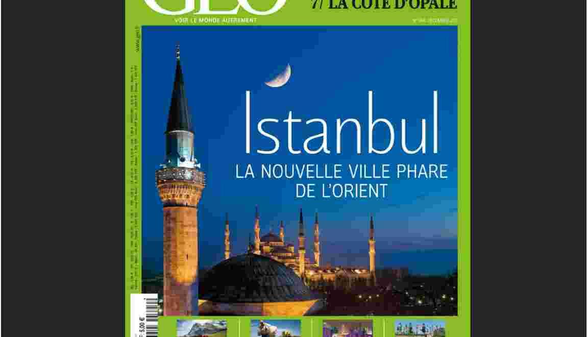 Magazine GEO décembre 2011 : spécial Istanbul (n°394)