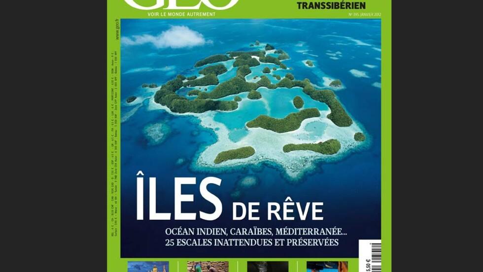 Magazine GEO - Janvier 2012 : Îles de rêve (n°395)