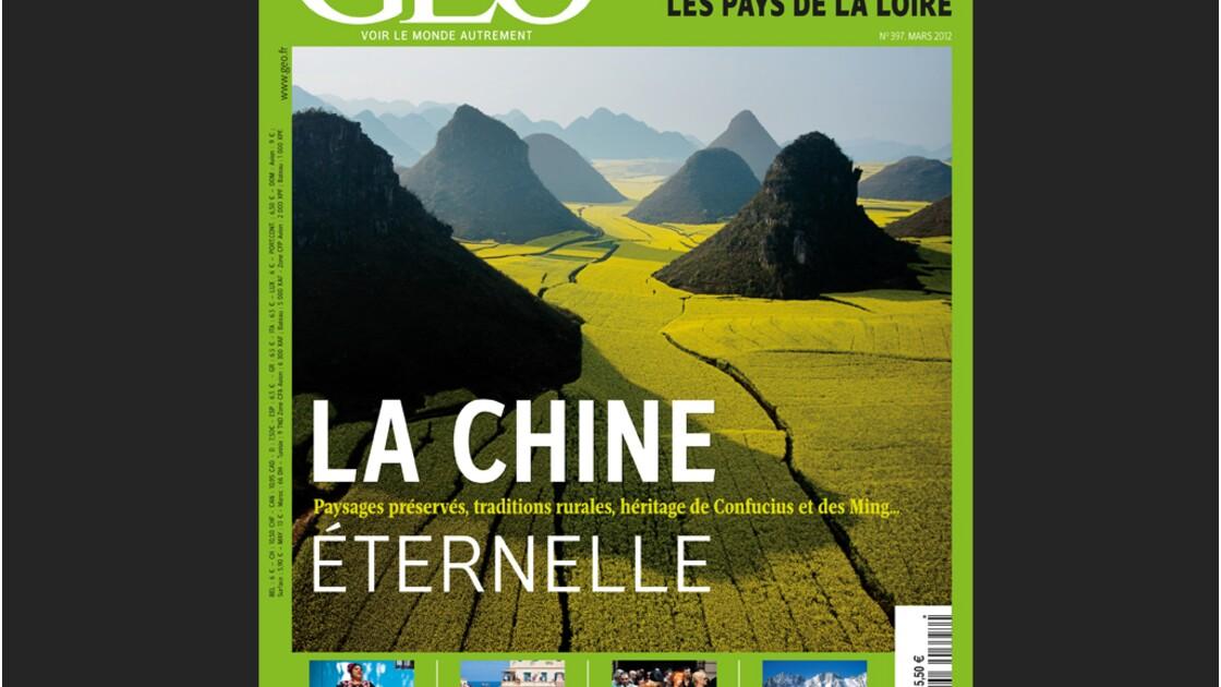 Magazine GEO - Mars 2012 : La Chine éternelle