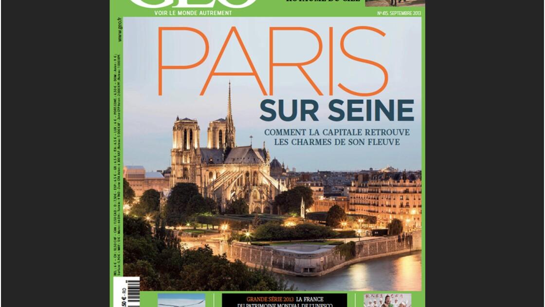 Magazine GEO spécial Paris sur Seine (n°415, septembre 2013)