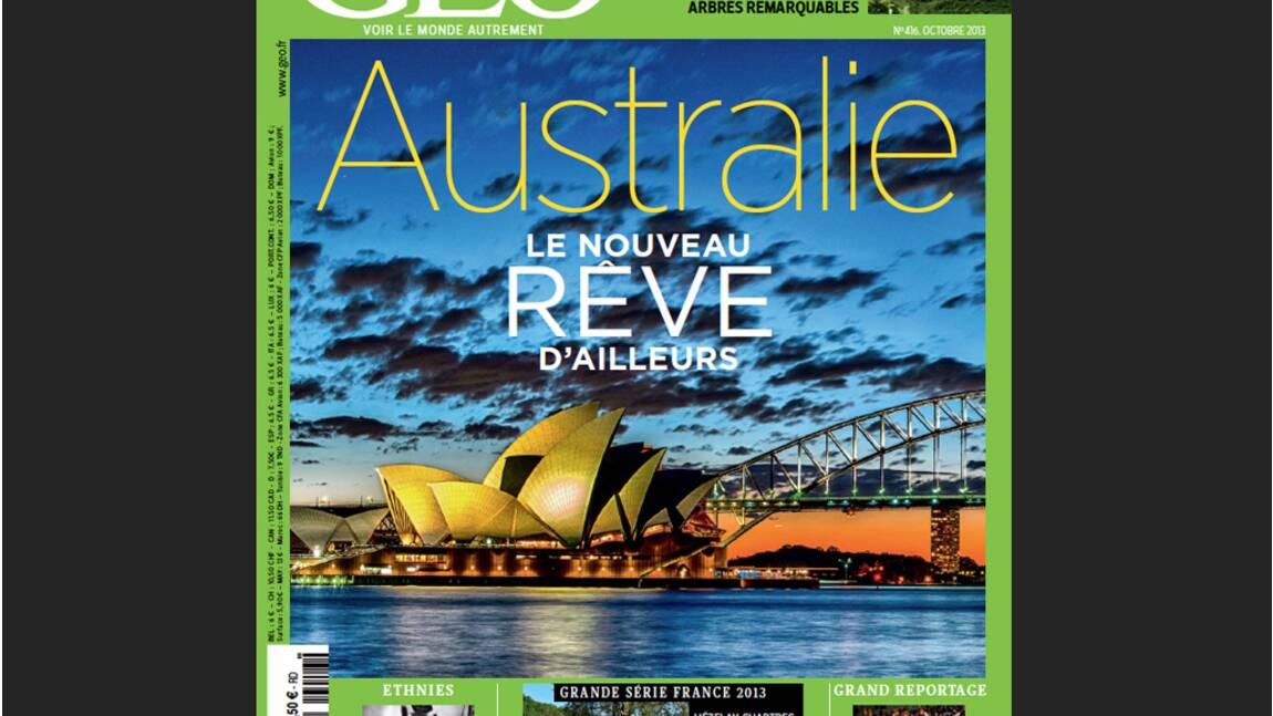 Magazine GEO spécial Australie (n°416, octobre 2013)