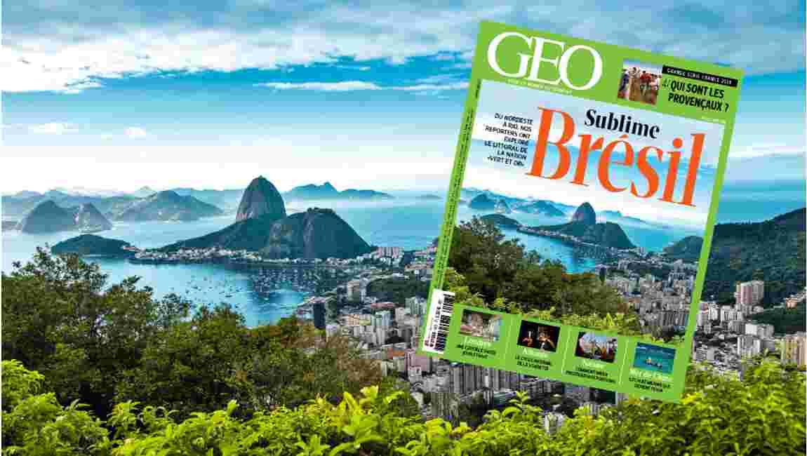 Magazine GEO spécial Brésil (n°423, mai 2014)