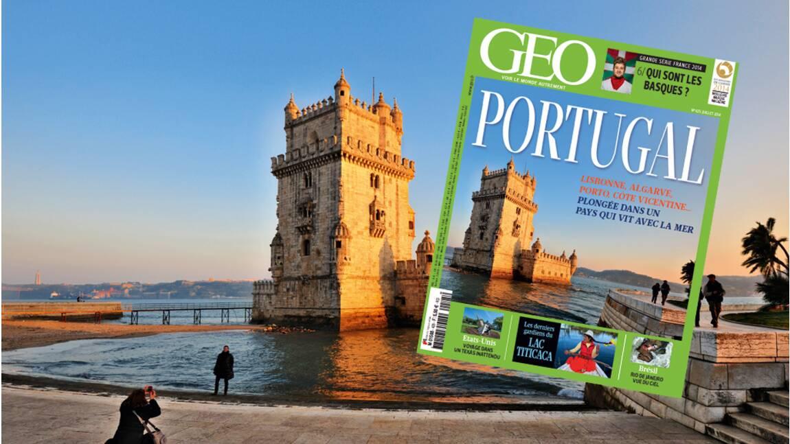 Magazine GEO spécial Portugal (n°425 - Juillet 2014)