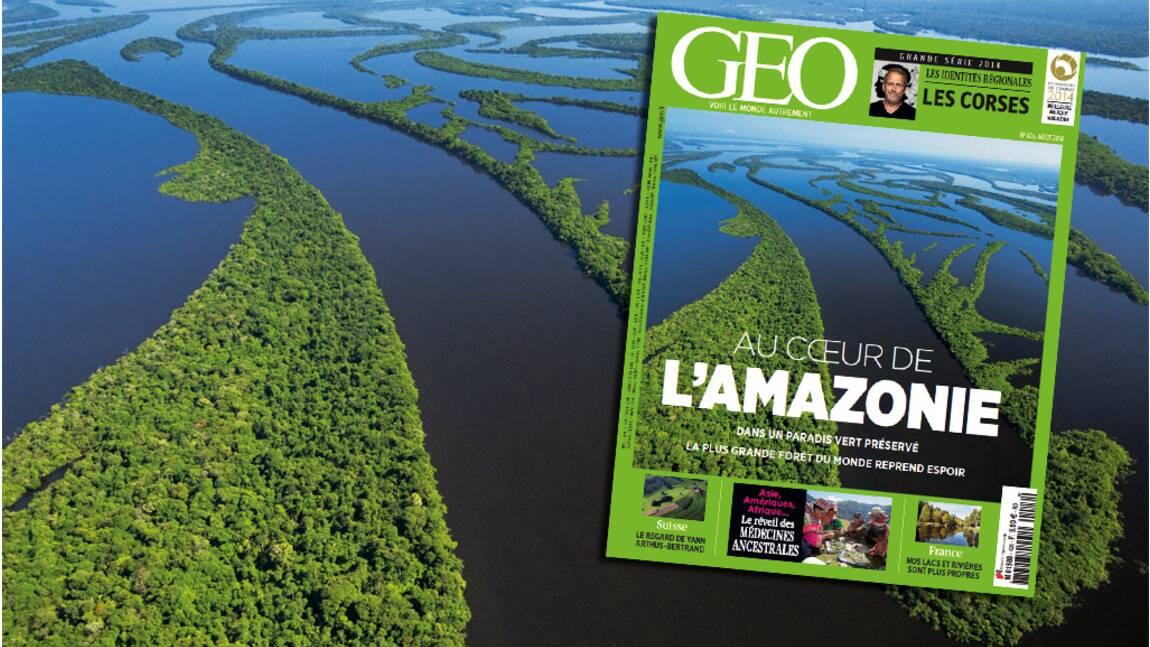 Magazine GEO spécial Amazonie (août 2014, n°426)