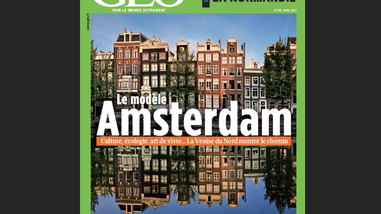 Magazine GEO spécial Amsterdam (avril 2013)