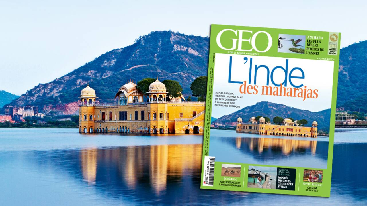 Magazine GEO spécial Inde des maharajas (n°429, novembre 2014)