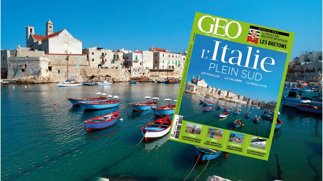 Magazine GEO spécial Italie du Sud (n°422 / avril 2014)