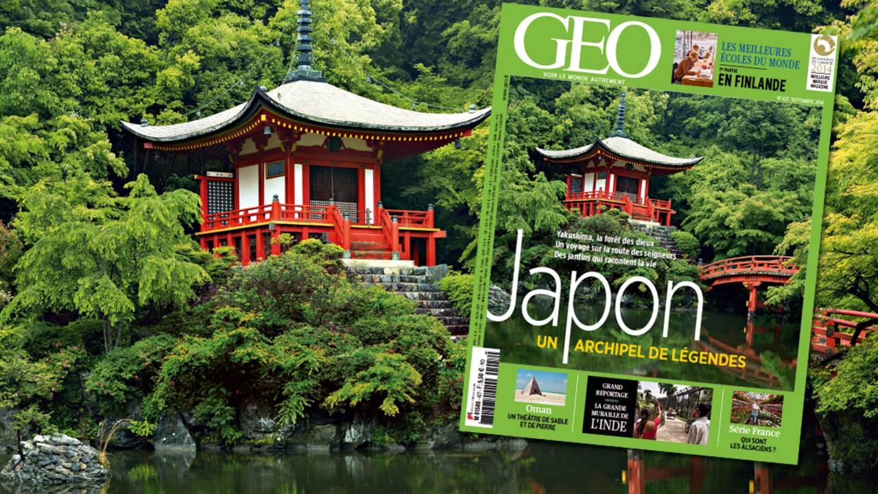 Magazine GEO spécial Japon (n°427, septembre 2014)