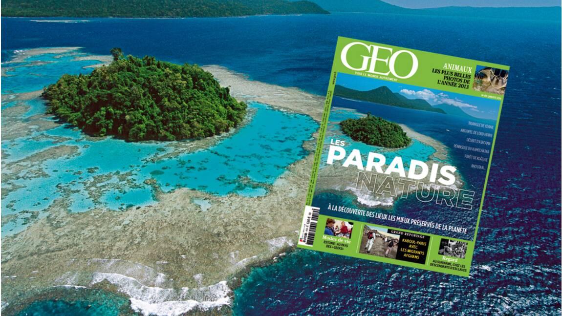 Magazine GEO spécial Paradis nature (n°419 - Janvier 2014)