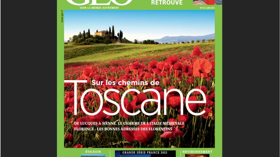 Magazine GEO - spécial Toscane (n°412, juin 2013)
