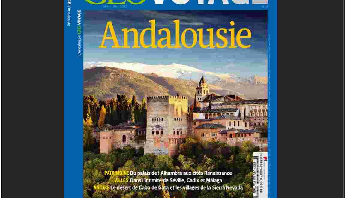 Magazine GEO Voyage - Spécial Andalousie