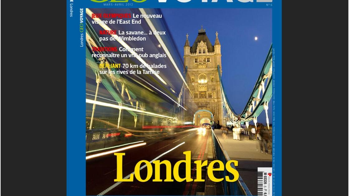 Magazine GEO Voyage - Spécial Londres (mars-avril 2012)