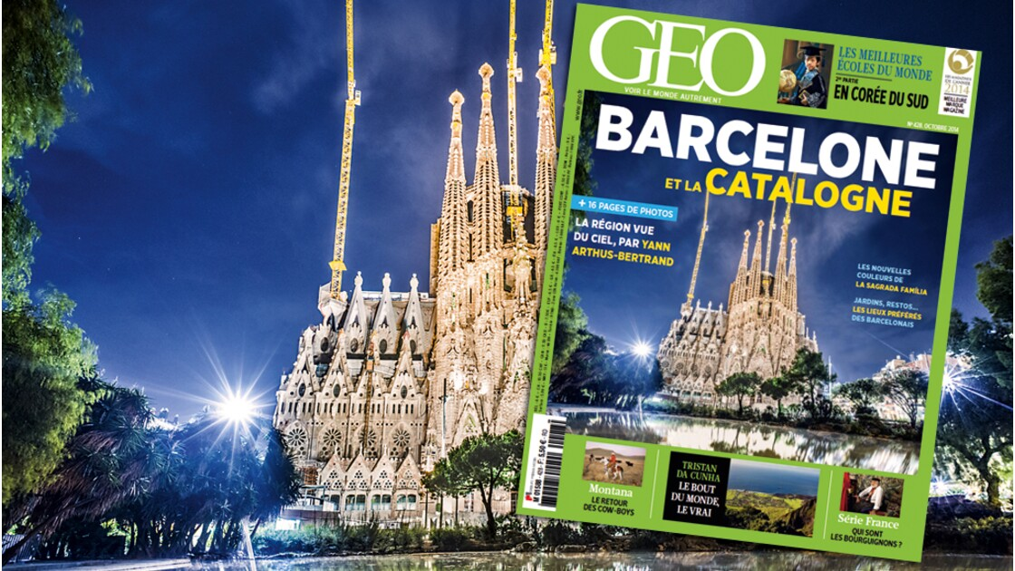 Magazine GEO spécial Barcelone et la Catalogne (n°428, octobre 2014)
