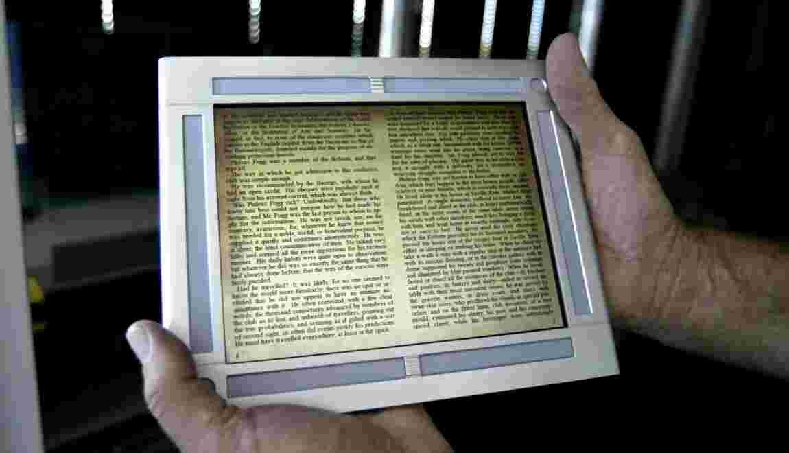 Livre électronique : êtes-vous prêt à abandonner le papier ?