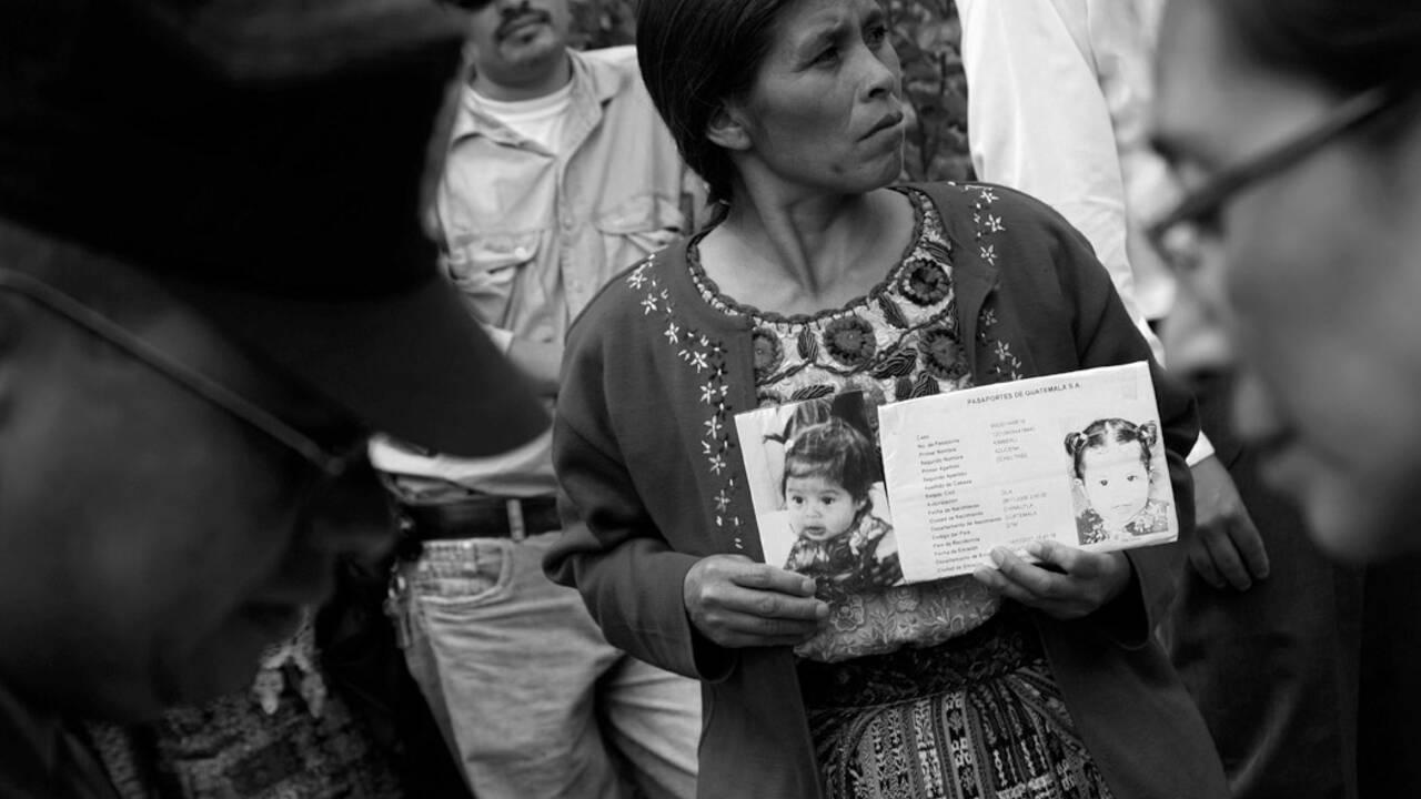 "Patrick Bard, photoreporter de ""Femmes sacrifiées du Guatemala"""
