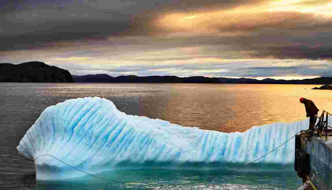 Canada : Avec les chasseurs d'icebergs