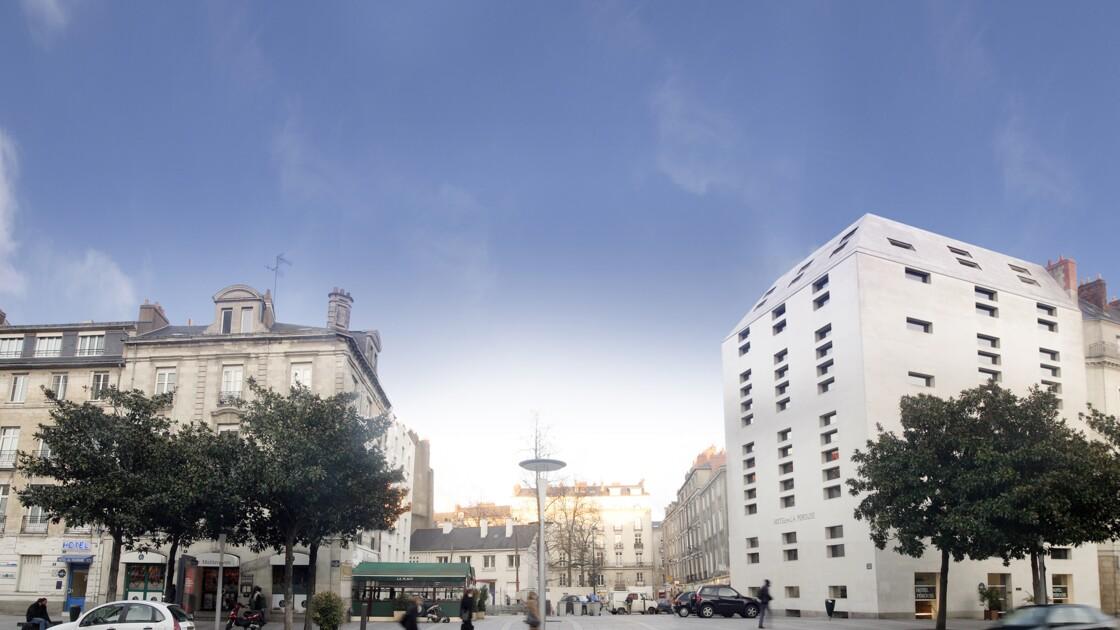 Un trois étoiles écolo au coeur de Nantes