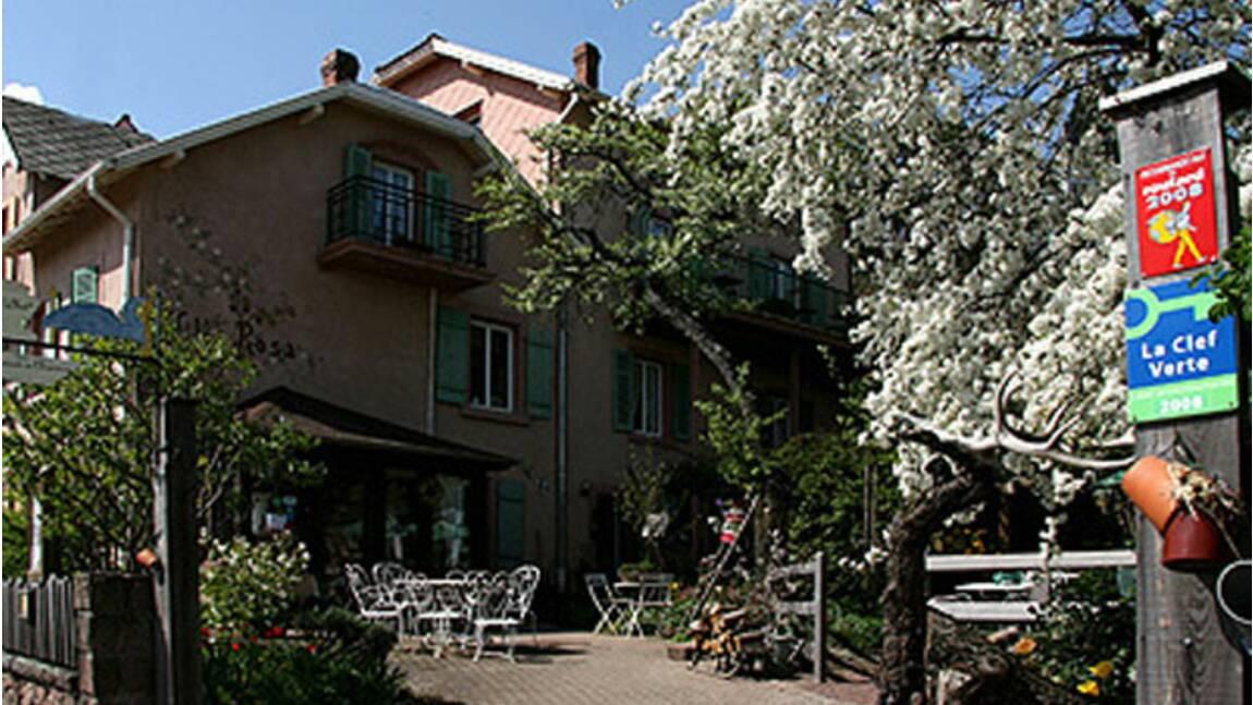 Un hôtel au naturel en Alsace