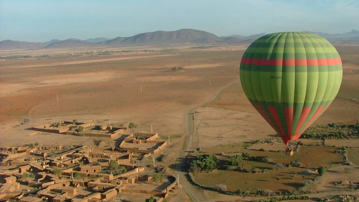 Le Maroc en montgolfière