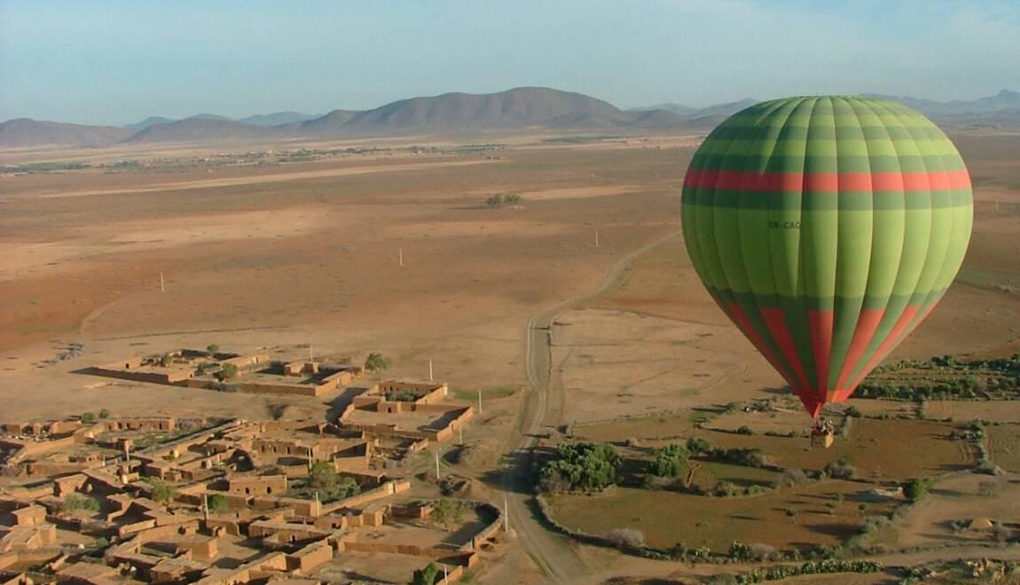 montgolfiere a marrakech
