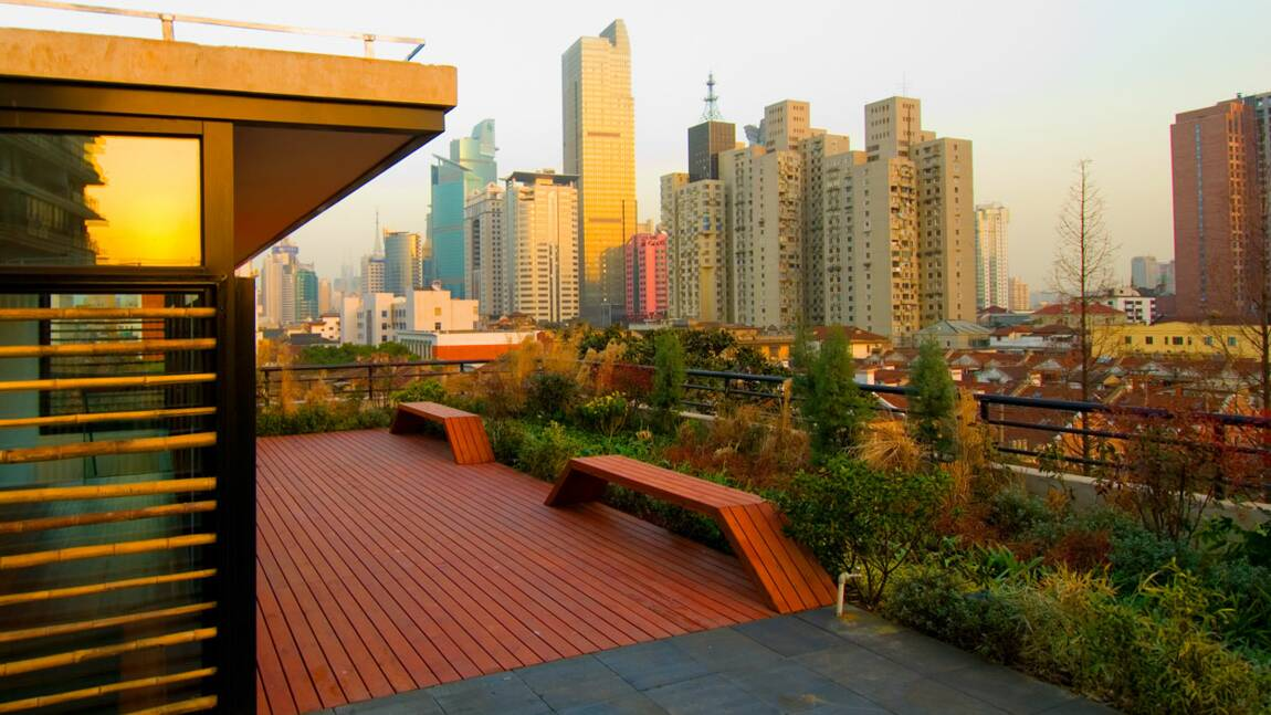 A Shanghai, un hôtel qui compense ses émissions de CO2