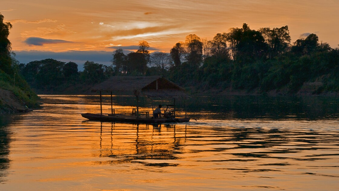 Ecolodge au Laos